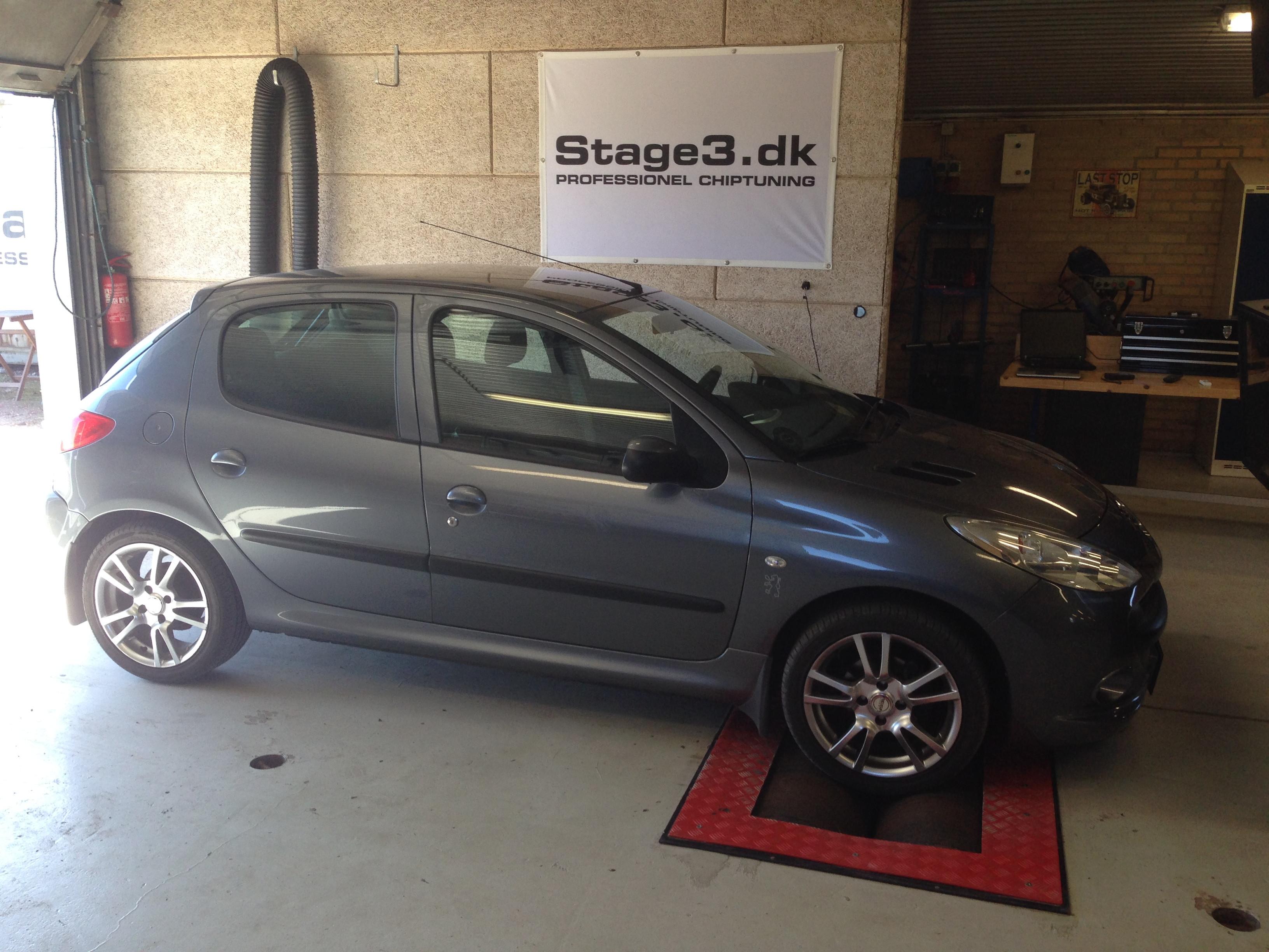 Peugeot 206+ chiptuning